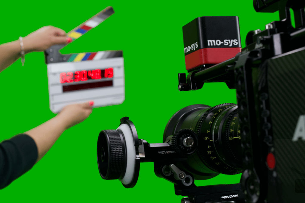 Greenscreen virtual production